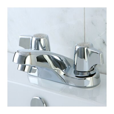 Americana Double Handle Centerset Bathroom Faucet Finish: Polished Chrome
