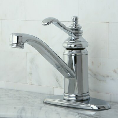Templeton Single Handle Bathroom Faucet with Push-Up Drain Finish: Polished Chrome