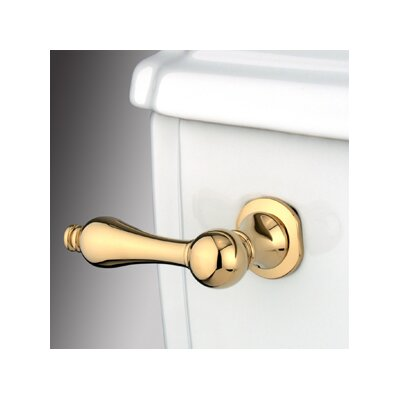 Victorian Toilet Tank Lever Finish: Polished Brass