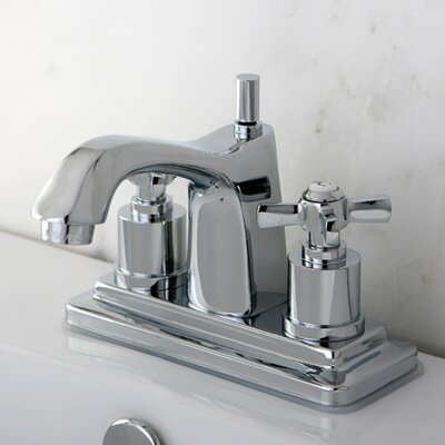 Millennium Double Handle Centerset Bathroom Faucet Finish: Polished Chrome