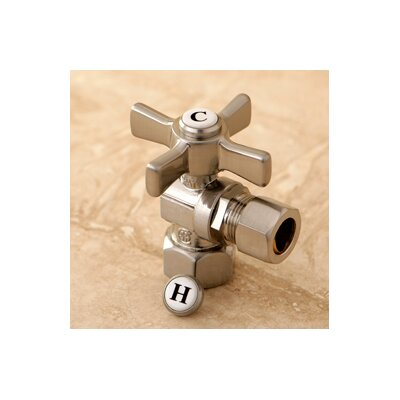 Millennium 0.5 FIP x 0.5 OD Compression Angle Valve Finish: Satin Nickel