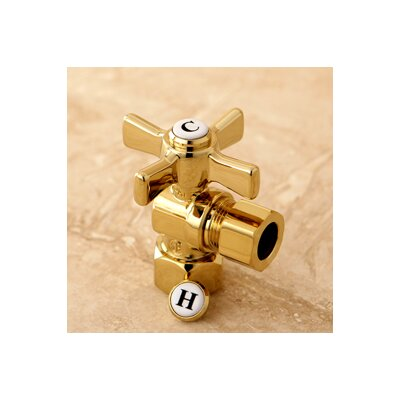 Millennium 0.5 FIP x 0.5 OD Compression Angle Valve Finish: Polished Brass