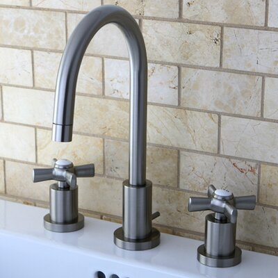 Millennium Mini Widespread Bathroom Faucet Finish: Satin Nickel