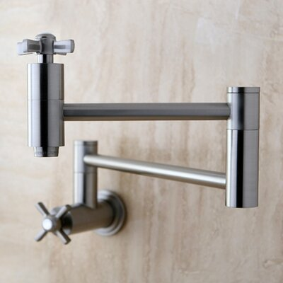 Millennium Pot Filler Finish: Satin Nickel