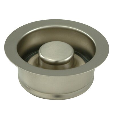 Made to Match 3.5 Garbage Disposal Flange Finish: Satin Nickel