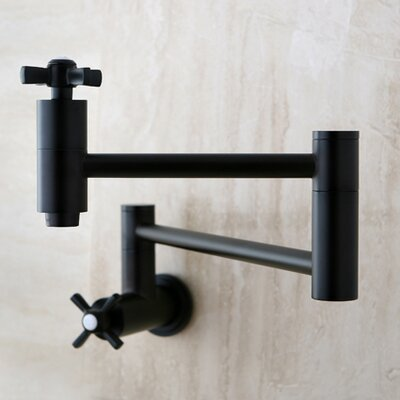 Millennium Pot Filler Finish: Oil Rubbed Bronze