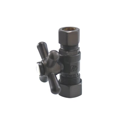 Vintage Straight Stop Finish: Oil Rubbed Bronze