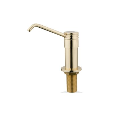 Milano Decorative Soap Dispenser Finish: Polished Brass