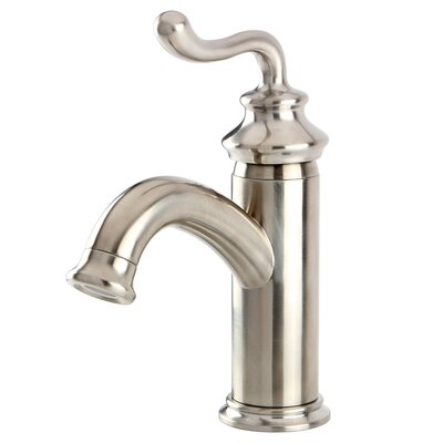 Royale Single Handle Centerset Bathroom Faucet with Pop-Up Drain Finish: Satin Nickel