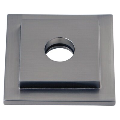 Claremont Heavy Duty Square Solid Cast Brass Shower Flange Finish: Satin Nickel