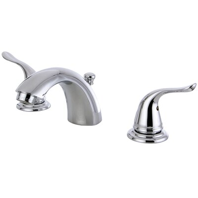 Yosemite Double Handle Mini Widespread Bathroom Faucet with Pop-Up Drain Finish: Polished Chrome