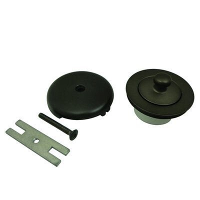 Made to Match Lift and Turn Tub 1.5 Lift and Turn Tub Drain With Overflow Finish: Oil Rubbed Bronze