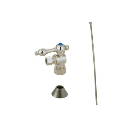 Trimscape Traditional Plumbing Toilet Trim Kit Finish: Satin Nickel