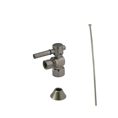 Trimscape Contemporary Plumbing Toilet Trim Kit Finish: Satin Nickel