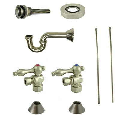 Trimscape Traditional Plumbing Sink Trim Kit Finish: Satin Nickel