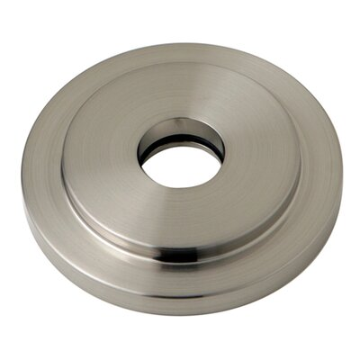 Manhattan Heavy Duty Round Solid Cast Brass Shower Flange Finish: Satin Nickel