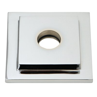Claremont Heavy Duty Square Solid Cast Brass Shower Flange Finish: Polished Chrome