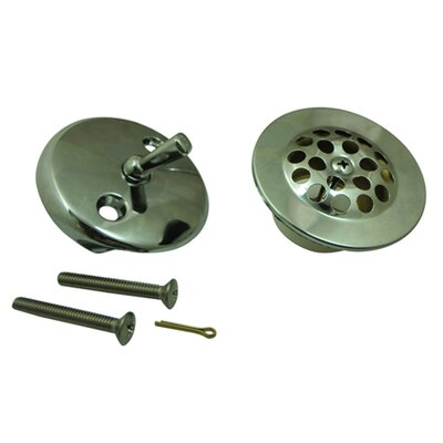 Made to Match Trim Conversion Kit Shower Drain Finish: Polished Chrome