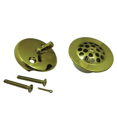 Made to Match Trim Conversion Kit Shower Drain Finish: Polished Brass