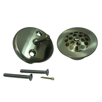 Made to Match Trim Conversion Kit Shower Drain Finish: Satin Nickel