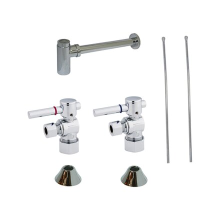 Trimscape Contemporary Plumbing Sink Trim Kit Finish: Chrome