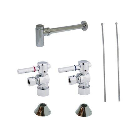 Trimscape Contemporary Plumbing Sink Trim Kit Finish: Chrome