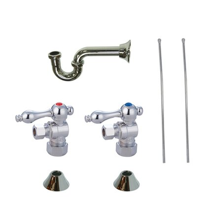 Trimscape Traditional Plumbing Sink Trim Kit Finish: Chrome