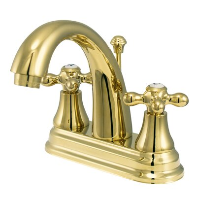 English Vintage Classic Centerset Bathroom Faucet with Drain Assembly KS7612AX
