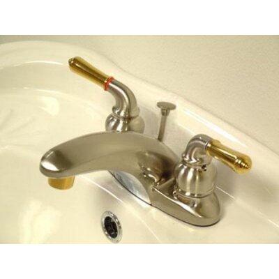 Magellan Double Handle Centerset Bathroom Faucet Optional Accessories: With Pop-Up Drain
