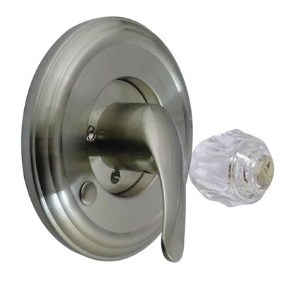 Made to Match Tub and Shower Trim Kit Finish: Satin Nickel