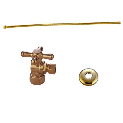 Trimscape Toilet Supply Combo Kit Finish: Polished Brass