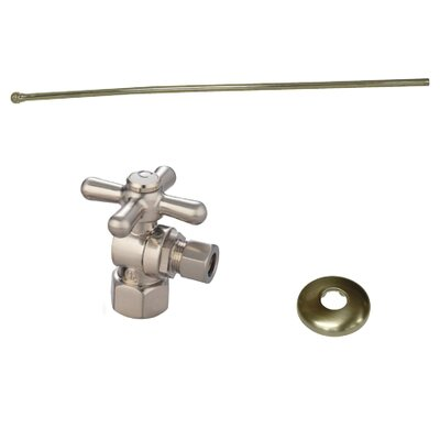 Trimscape Toilet Supply Combo Kit Finish: Satin Nickel