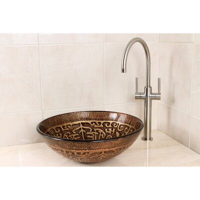 Cagliari Circular Vessel Bathroom Sink