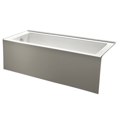 Aqua Eden 60 x 30.7 Soaking Bathtub Drain Location: Left Hand