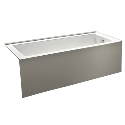 Aqua Eden 60 x 30.7 Soaking Bathtub Drain Location: Right Hand