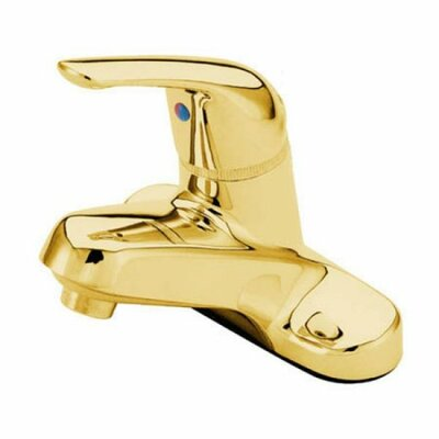 Chatham Single Handle Centerset Bathroom Faucet Finish: Brass, Optional Accessories: With Pop-Up Drain