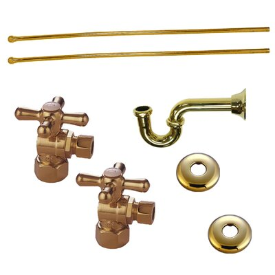 Trimscape Plumbing Supply Combo Kit Finish: Polished Brass