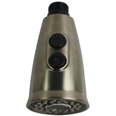 Gourmetier 2-Function Stream Fow and Full Spray Sprayer Finish: Satin Nickel