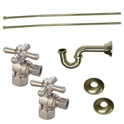 Trimscape Plumbing Supply Combo Kit Finish: Satin Nickel