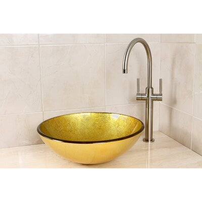 Catania Circular Vessel Bathroom Sink