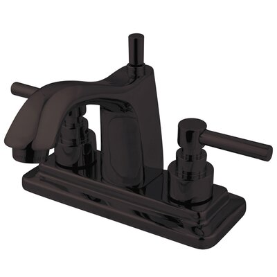 Elinvar Double Handle Centerset Bathroom Faucet with Pop-Up Drain Finish: Oil Rubbed Bronze