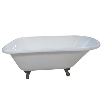 Aqua Eden 54 x 30.13 Soaking Bathtub Finish: Oil Rubbed Bronze