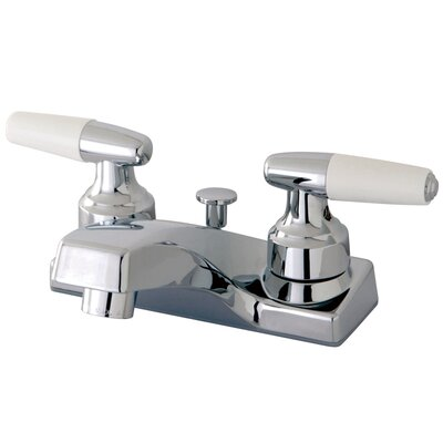 Americana Double Handle Centerset Bathroom Sink Faucet with Pop-Up Drain
