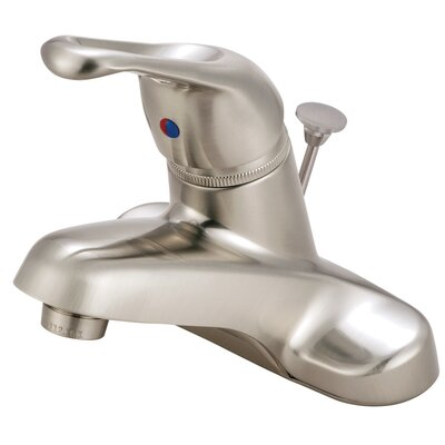 Wyndham Centerset Bathroom Faucet with Pop-Up Drain
