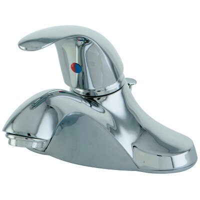 Legacy Single Handle Centerset Bathroom Faucet with Pop-Up Drain