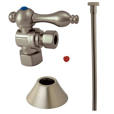 Trimscape Traditional Plumbing Toilet Trim Kit Finish: Satin Nickel