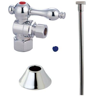 Trimscape Traditional Plumbing Toilet Trim Kit Finish: Chrome