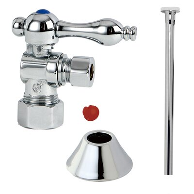 Trimscape Traditional Plumbing Toilet Trim Kit Finish: Chrome