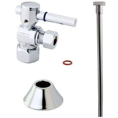 Trimscape Contemporary Plumbing Toilet Trim Kit Finish: Chrome
