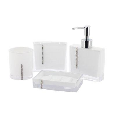 Capitol 4-Piece Bathroom Accessory Set CBAK3101W
